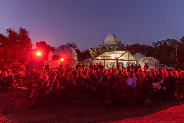 The crowd watching the proceedings. Image Credit: Geoff Scott