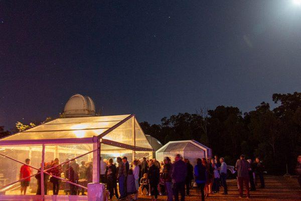 Bindi Bindi Dreaming provided the catering on the night. Image Credit: Geoff Scott