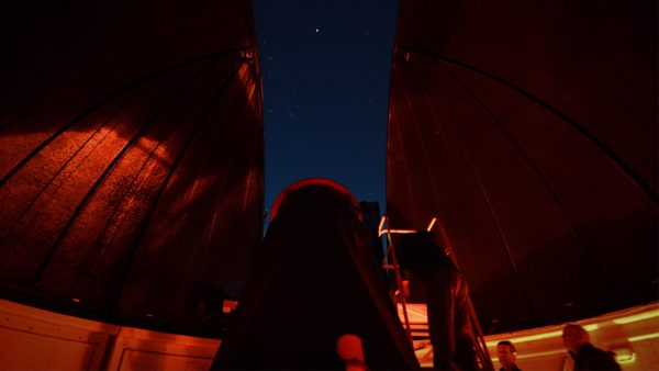 The 30 inch Obsession Telescope on a Night Sky Tour. Image Credit: Matt Woods