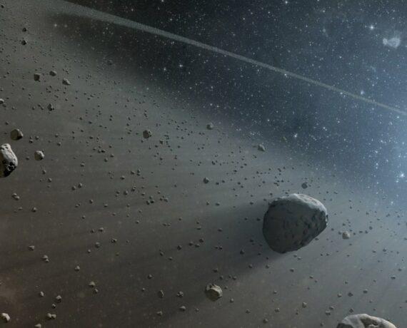 Asteroid banner bg