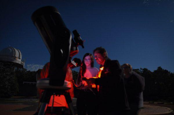 The Celestron CPC1100 Telescope. Image Credit: Matt Woods