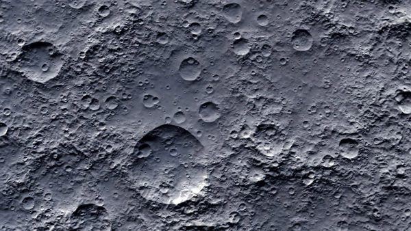 Craters on the Moon. Image Credit: Helen Field/Shutterstock