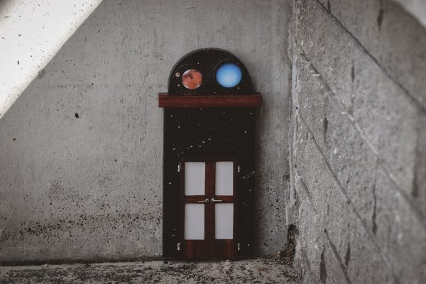 Fairy door for the Lowell Dome. Image Credit: Dr Jan Baldwin