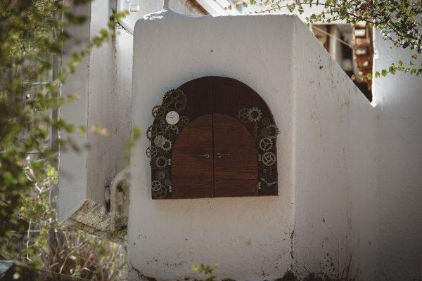 Fairy door for the Meridian Dome. Image Credit: Dr Jan Baldwin