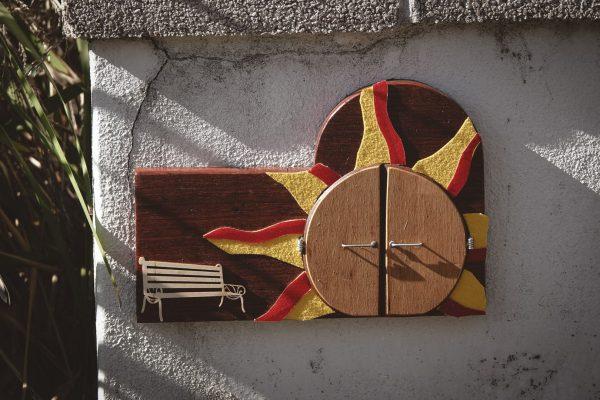 Fairy door for the Uni Dome. Image Credit: Dr Jan Baldwin