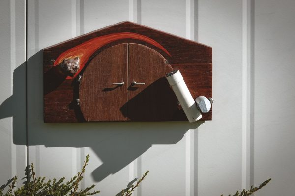Fairy door for the Visitor's Observing Facility. Image Credit: Dr Jan Baldwin