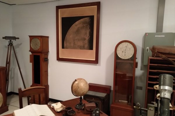 The government astronomers office in our museum. Image Credit: Matt Woods