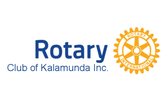 Homepage logo for Rotary Club of Kalamunda