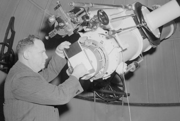 Hyman Spigl. Image Credit: Perth Observatory