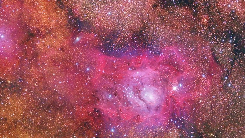 Lagoon Nebula banner