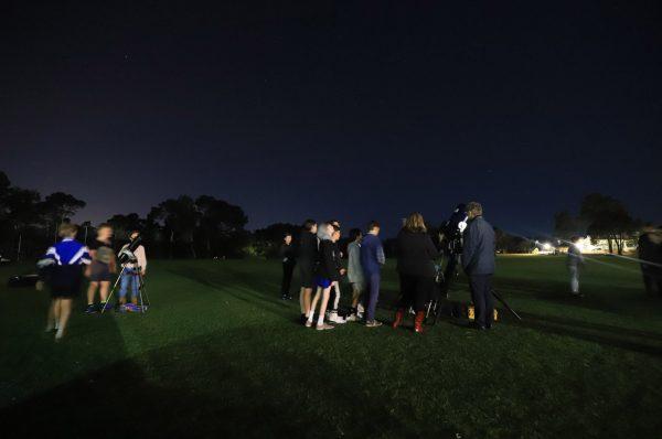 Mazenod College Astronomy Night. Image Credit: Matt Woods