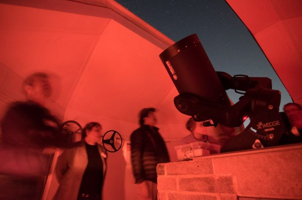 The Meade 14 Telescope. Image Credit: Roger Groom