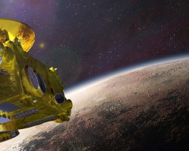 New Horizons Pluto flyby banner