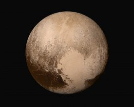 New Horizons Photo of Pluto in true color