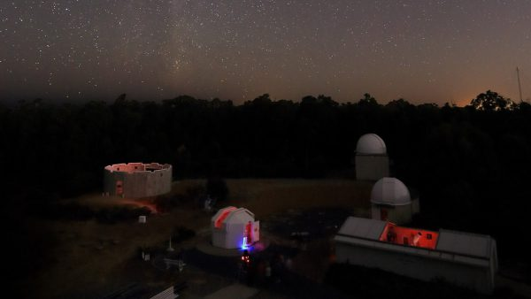 Night Sky Tour viewing area on a Night Sky Tour. Image Credit: Roger Groom