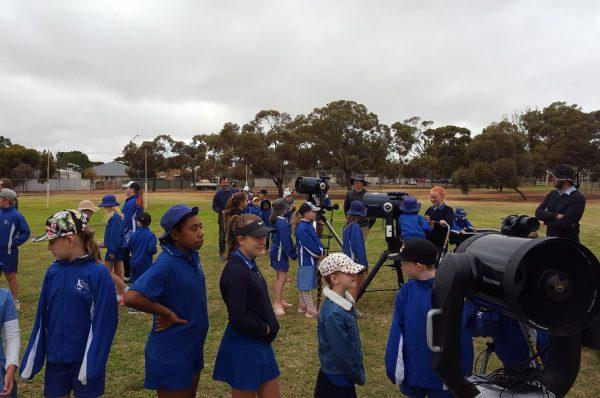 North Kalgoorlie School Incursion. Image Credit: Matt Woods