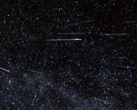 Persieds Meteor Shower Banner