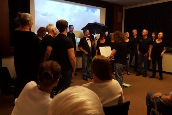 Real Sing Choir performance. Image credit: Matt Woods