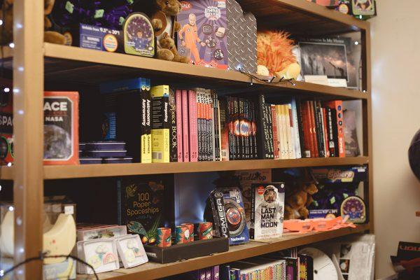 Books in our shop. Image Credit: Zal Kanga Parabia