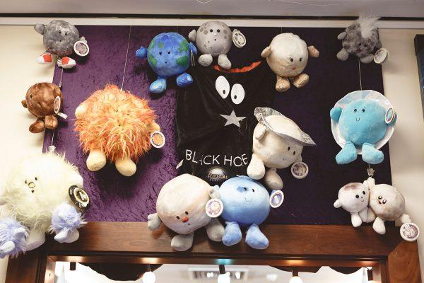 Celestial buddies in our shop. Image Credit: Zal Kanga Parabia