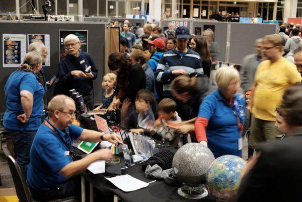 Our volunteers at astrofest . Image Credit: Geoff Scott